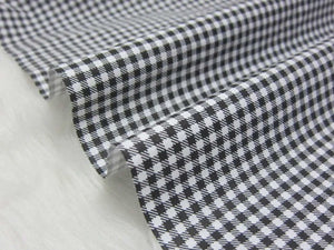 "Plaid Cotton Fabric - 19.7"" x 63"""