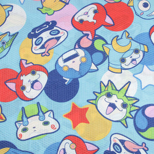 "Cartoon Print Seersucker Fabric - 19.7"" x 55.6"""