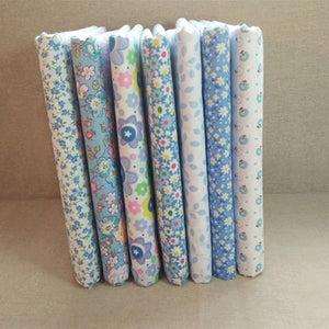 "Baby Pattern Bamboo Fiber Fabric - 9.4"" x 9.4"" - 7pcs/Pack"