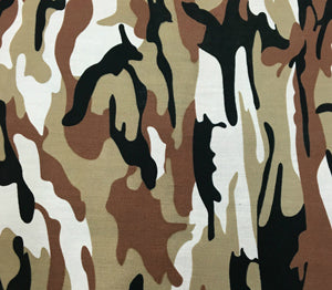 Fashion Camouflage Print Cotton Fabric - 39