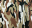 "Fashion Camouflage Print Cotton Fabric - 39"" x 58"""
