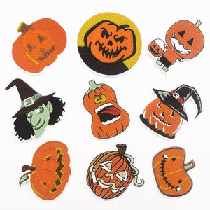 Halloween Pumpkin Patches - 9pcs/Pack
