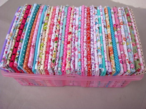 QD's Bright Fabric Instant Stash Box (50 pcs)