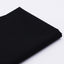 "Solid Black Color Cotton Fabric - 19.7"" x 59"""