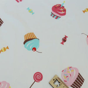 "Sweet Print Twill Cotton Fabric - 19.7"" x 63"""