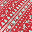 "Vintage Christmas Prints Twill Cotton Fabric - 8.6"" x 9.4"" - 5pcs/Pack"