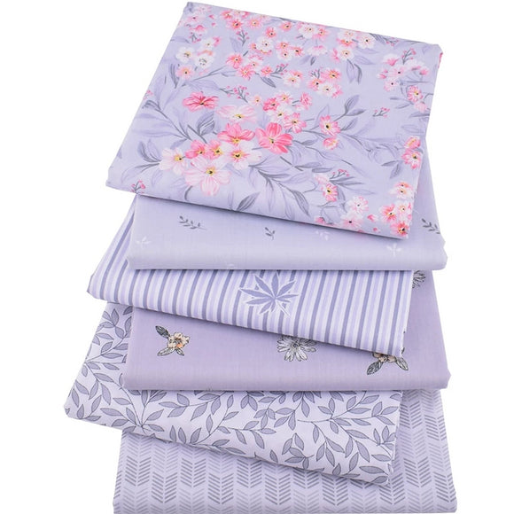 Lavender Collection Fabric Bundle - 15.7
