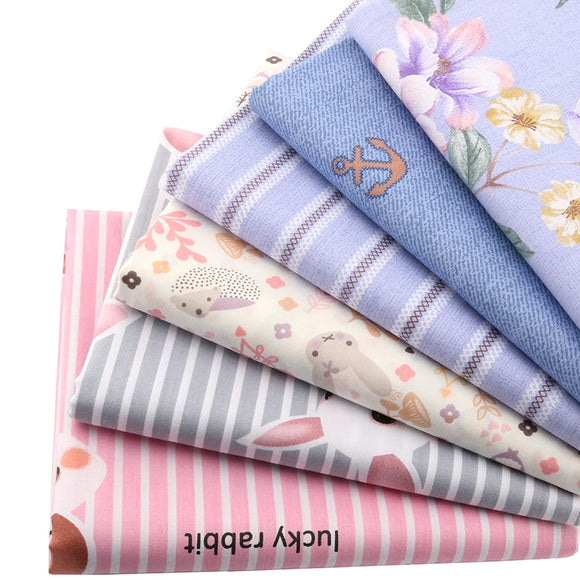 Cute Colors Baby Prints Cotton Fabric - 7.8
