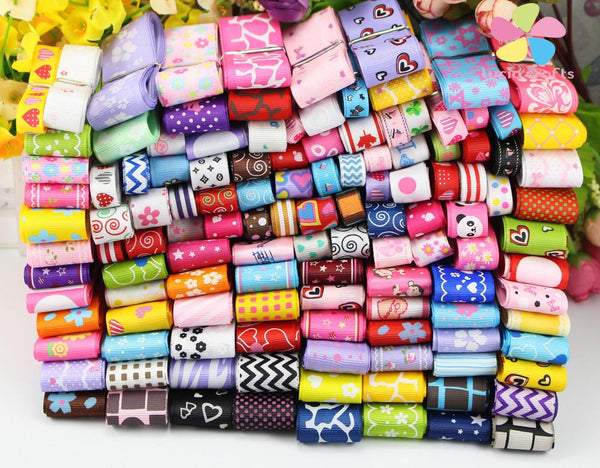 Mixed Ribbon Style/Size - 12 Yards/pack