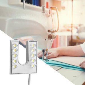 LED Light Flexible Gooseneck With Magnetic Base For Sewing Machine - 110-265V