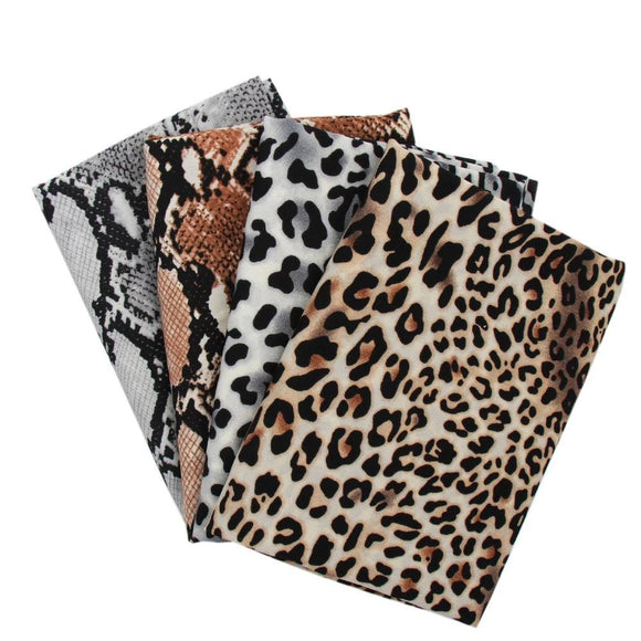 Animal Print Cotton Fabric - 17.7