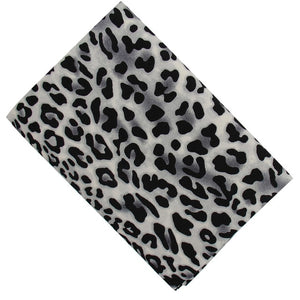 "Animal Print Cotton Fabric - 17.7"" x 59"""