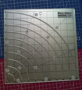 Wavy Maker Quilting Ruler