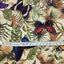 "Colorful Butterfly Print Twill Cotton Fabric - 19.6"" x 41.3"