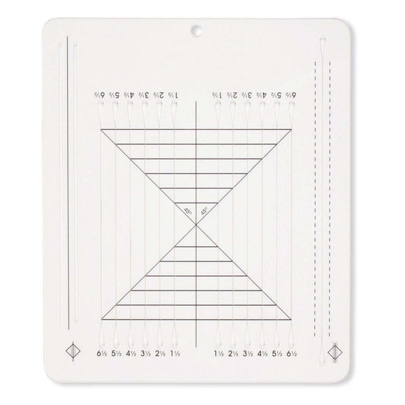 Perfect Half-Square & Quarter-Square Triangles Ruler