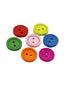 Pastel Color Wooden Buttons - 100pcs/Pack