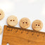 Quilters Round Wooden Buttons - 200pcs/Pack