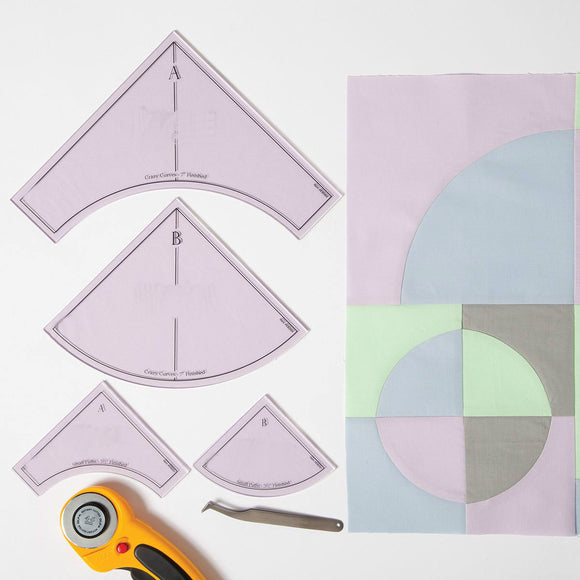 Crazy Curves Quilting Template