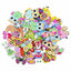 Mixed Cute Animals Wooden Buttons - 50pcs
