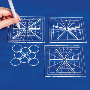 Mini Crosshair Templates - Set of 3