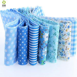 "Jelly Roll Pack - Blue 7pcs 1.97"" x 39.3"" (5cm x 100cm)"