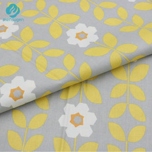 "19.7"" x 63"" (0.5 x 1.75 yards) Pattern Fabric Yellow Mix"