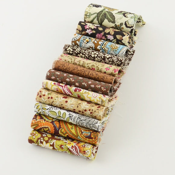 Leaf Print Jelly Roll Strips - 2.7