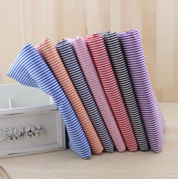 7pc Fabric Bundles Stripes