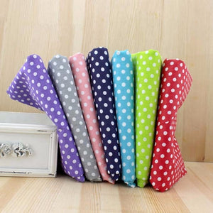 7pc Fabric Bundles Spots