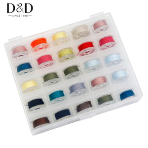 25pcs Mixed Colors Polyester Sewing thread set