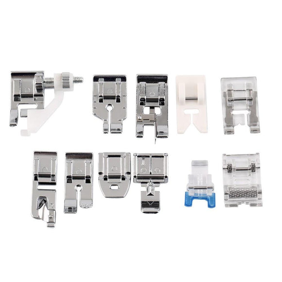 Quilter's Pack: 11PCS Sewing Machine Presser Feet Set