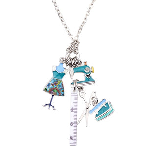 Sewing Tools Necklace