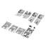 16Pcs Domestic Sewing Machine Accessories Presser Foot Feet Kit Set Hem Foot Spare Parts With Box For Brother Singer Janome
