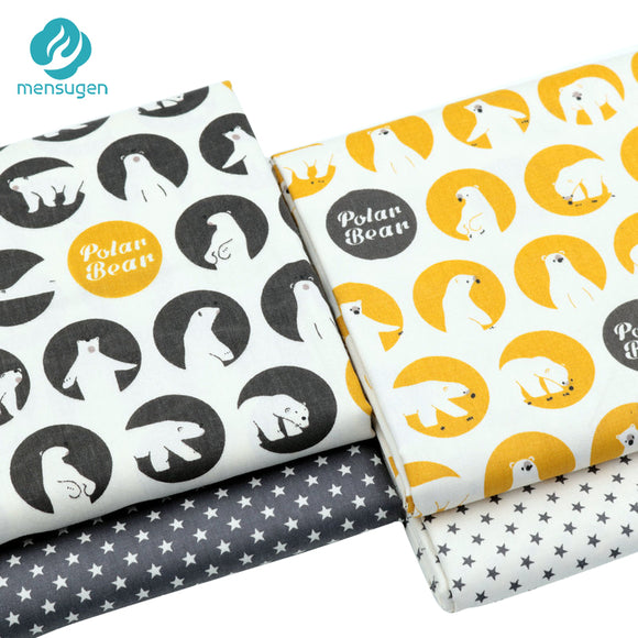 Fabric by Yard: Polar Bear Patterns