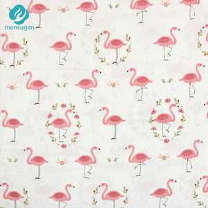Fabric by Yard: Tropical Flamingo Patterns