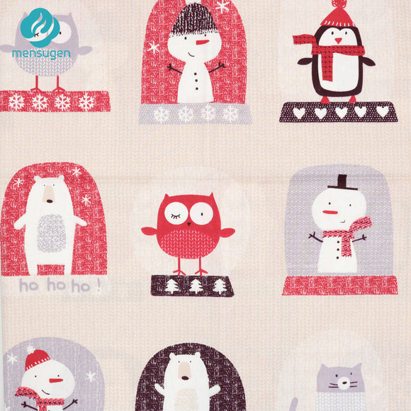 Fabric by Yard: Animal Christmas Patterns