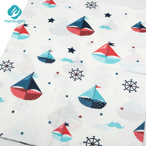 Fabric by Yard: Cartoon Boats Patterns