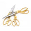 Gold Tailor Scissors - Multiple Sizes