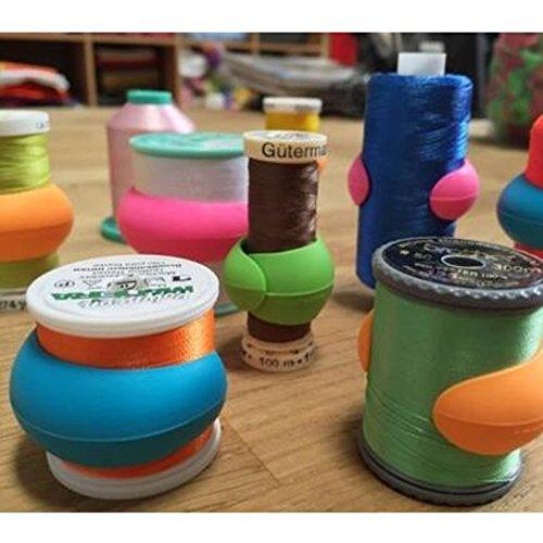 'PEELS' Thread Huggers for Sewing Spools (Pack of 12)