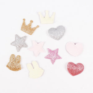 Glittered Patches - 100pcs/bag