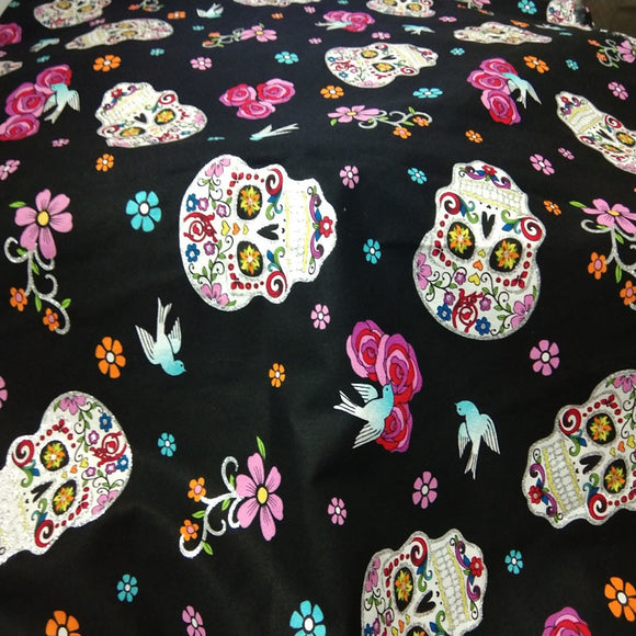 Skull Cotton Fabric - 110cm