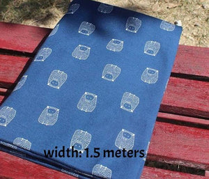Stretchy Printed Twill Cotton Fabric