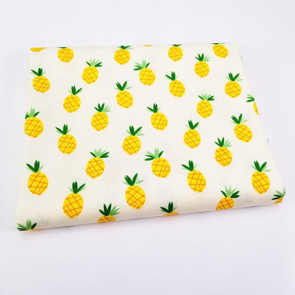 Pineapple Twill Cotton Fabric
