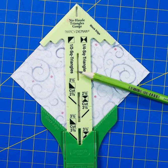 No-Hassle Triangle Gauge