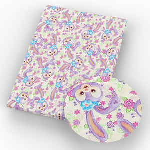 Cute Cartoon Print Design Fabric 50x145cm