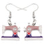Lovely Sewing Machine Earrings