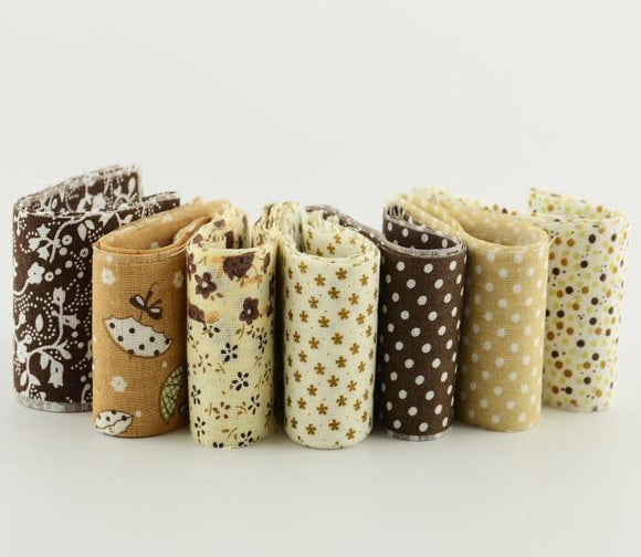 Jelly Roll Pack - Brown 5cmx100cm (7pcs)