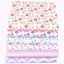 "Baby Color Flower Twill Cotton Fabric - 7.90"" x 9.90"" - 6pcs/Pack"