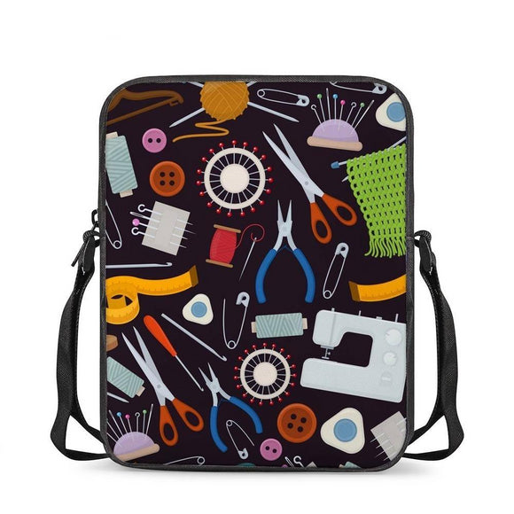 Sewing Tools Crossbody Bag