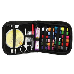 12 Needle Complete Sewing/Quilting Kit incl Scissors & Threads